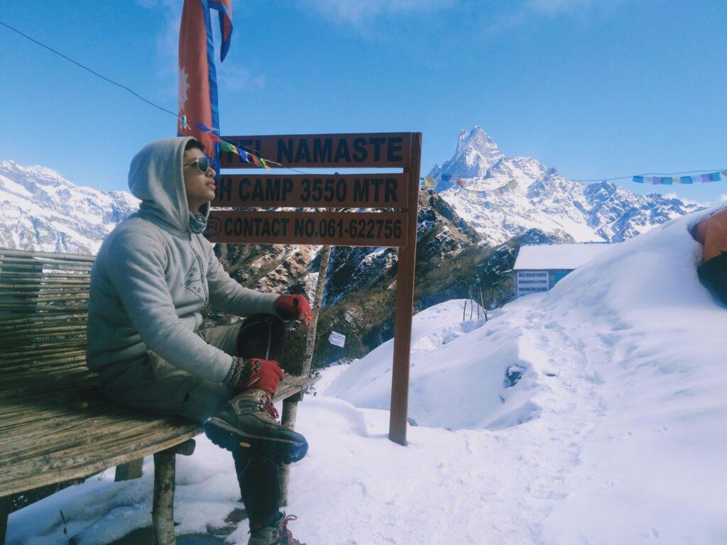 Mardi himal , yatri traveler