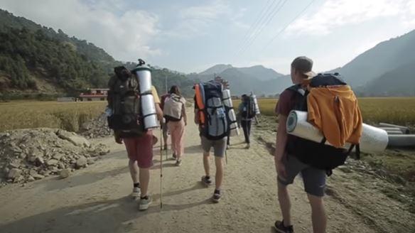 hiking place in kathmandu , athmandu valley, yatri , nepali garib.
