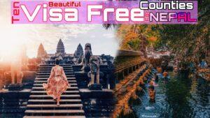 visa free nation for nepal