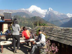 Mardi himal , annaourna budget traveler garib yatri