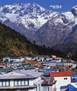namche bazzar nepal everest,