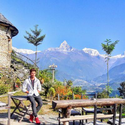 Garib Yatri, Budget traveler , annapurna range garib yatri